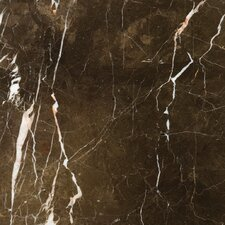 "Natural Stone 12"" x 12"" Marble Field Tile in St.Croix Brown"
