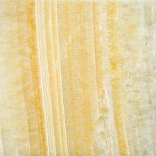 "Natural Stone 12"" x 12"" Onyx Field Tile in Golden Honey"