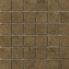 "Genoa 2"" x 2"" Porcelain Mosaic Tile in Pinelli"