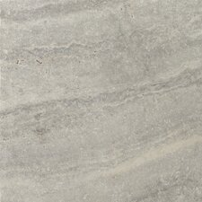 "Natural Stone 16"" x 16"" Travertine Field Tile in Silver"