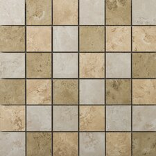Cordova Ceramic Mosaic Tile in Multicolor