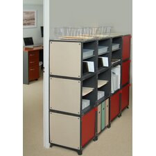 Office Supply 5 Door Storage Cabinet