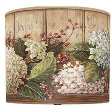 Hydrangea Shelf Drum Lamp Shade