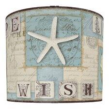 Beach Journal Drum Lamp Shade