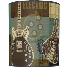 "5"" Guitar Collage Drum Shade"