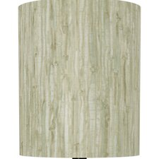 Bamboo Print Drum Lamp Shade