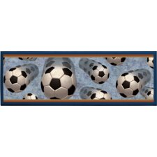 Soccer in Motion Wall Plaque