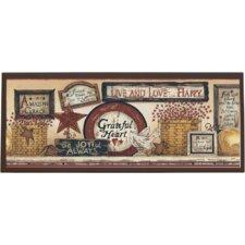 Inspirational Signs Framed Vintage Advertisement on Plaque