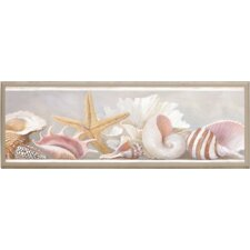 Starfish and Shells Framed Painting Print