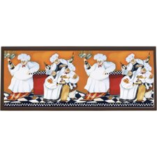 Chefs A Cookin Framed Painting Print on Plaque
