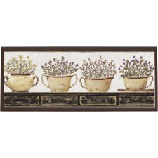 Herb Framed Painting Print