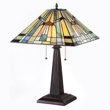 "23.2"" H Table Lamp with Empire Shade"