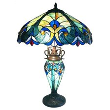 """Chipley Roosevelt Victorian 26"""" H Table Lamp with Bowl Shade"""