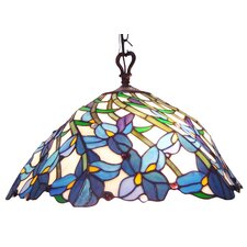 Chloe Lighting Tiffany 2 Light Pool Table Light