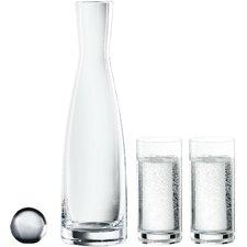 Mineralwasserglas Set