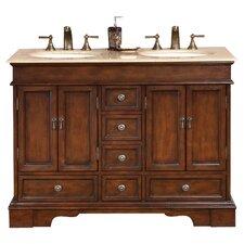 """Bradford 48"""" Double Bathroom Vanity Set"""