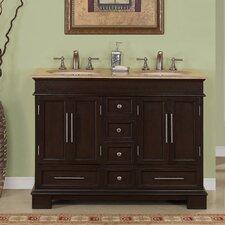 "Sally 48"" Double Bathroom Vanity Set"