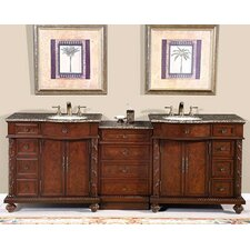 """Butler 90"""" Double Bathroom Vanity Set"""
