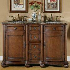 """Adela 52"""" Double Bathroom Vanity Set"""