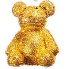 Rhinestone Teddy Bear Piggy Bank