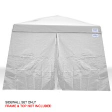 V-Series 2 12 Ft. W x 12 Ft. D Sidewall Kit Canopy