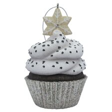 Snowflake Top Cupcake Christmas Christmas Ornament