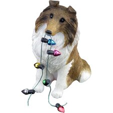 Sable Collie Christmas Christmas Ornament