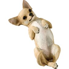 Small Size Playful Chihuahua Sculpture