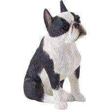 Small Size Sculptures Boston Terrier Figurine