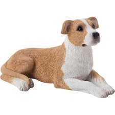Small Size Pit Bull Terrier Sculpture