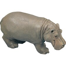 Small Size Sculptures Hippopotamus Figurine