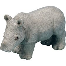 Small Size Sculptures Rhinoceros Figurine