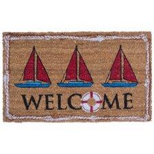 Nautical Welcome Doormat