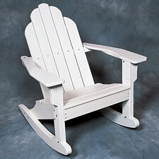 Classic Adirondack Rocking Chair - EnviroWood