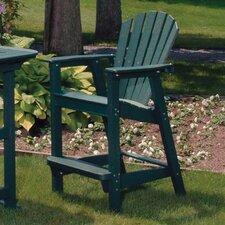 "Adirondack 28"" Shell Back Bar Chair"