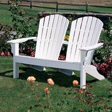 Adirondack Shell Back Garden Bench