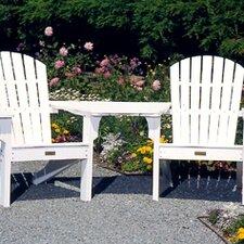 Adirondack Tete-a-Tete Attachment Bistro Table