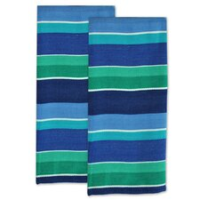 Deep Sea Stripe Dishtowel (Set of 2)
