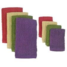 8 Piece Terry Bar Mop Dishtowel & Dishcloth Set