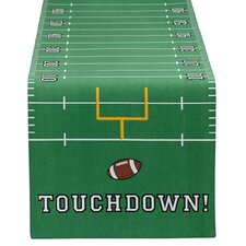 Touchdown Printed Table Runner