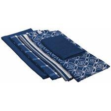 Nautical Dishtowel and Dishcloth (Set of 5)