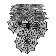 Spider Web Lace Table Runner