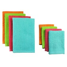 8 Piece Terry Bar Mop Dishtowel & Dishcloth Set