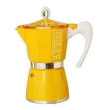 Bella Stainless Steel Stove Top Espresso Maker