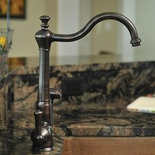 Single Handle Single Hole Kitchen Faucet with Sprayer