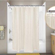 Tuxedo Stripe Shower Curtain