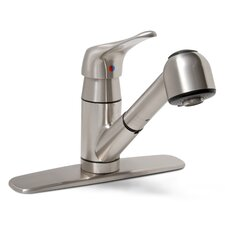 Sonoma Single Handle Deck Mounted Kitchen Faucet with Optional Deck Plate