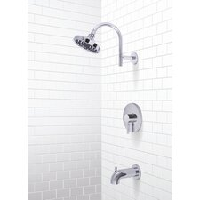 Essen Single Handle Volume Control Tub and Shower Faucet