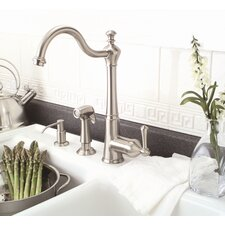 Sonoma One Handle Single Hole Kitchen Faucet with Side Spray