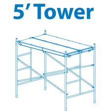 "Homebuilder 0.42' H x 72"" W x 42"" D Scaffold Tower"